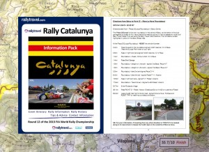 Rally Travel - Rally Information Pack & Map Book!