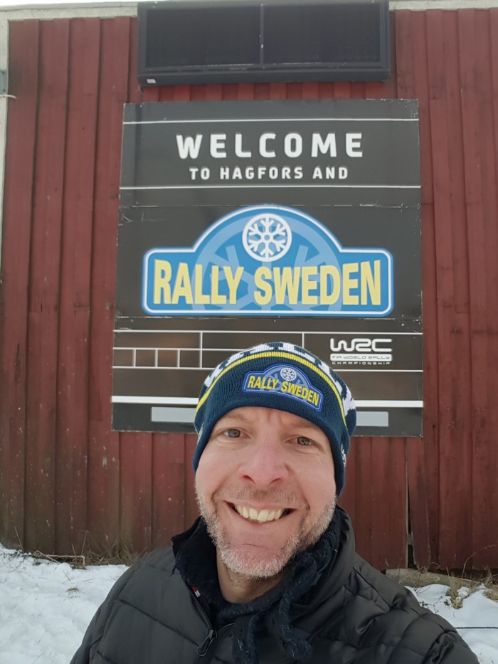Rally Travel - Wow.....the whole week i was walking on snow in my mind after an awesome WRC weekend in Sweden.